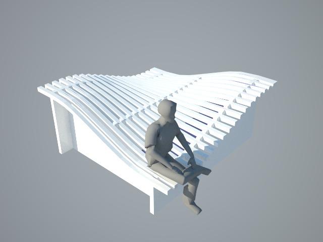 Conceptual render- Wave Bed