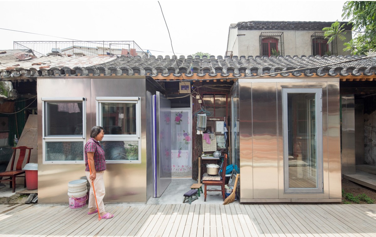 A 'Plugin House'. Image courtesy the People's Architecture Office.