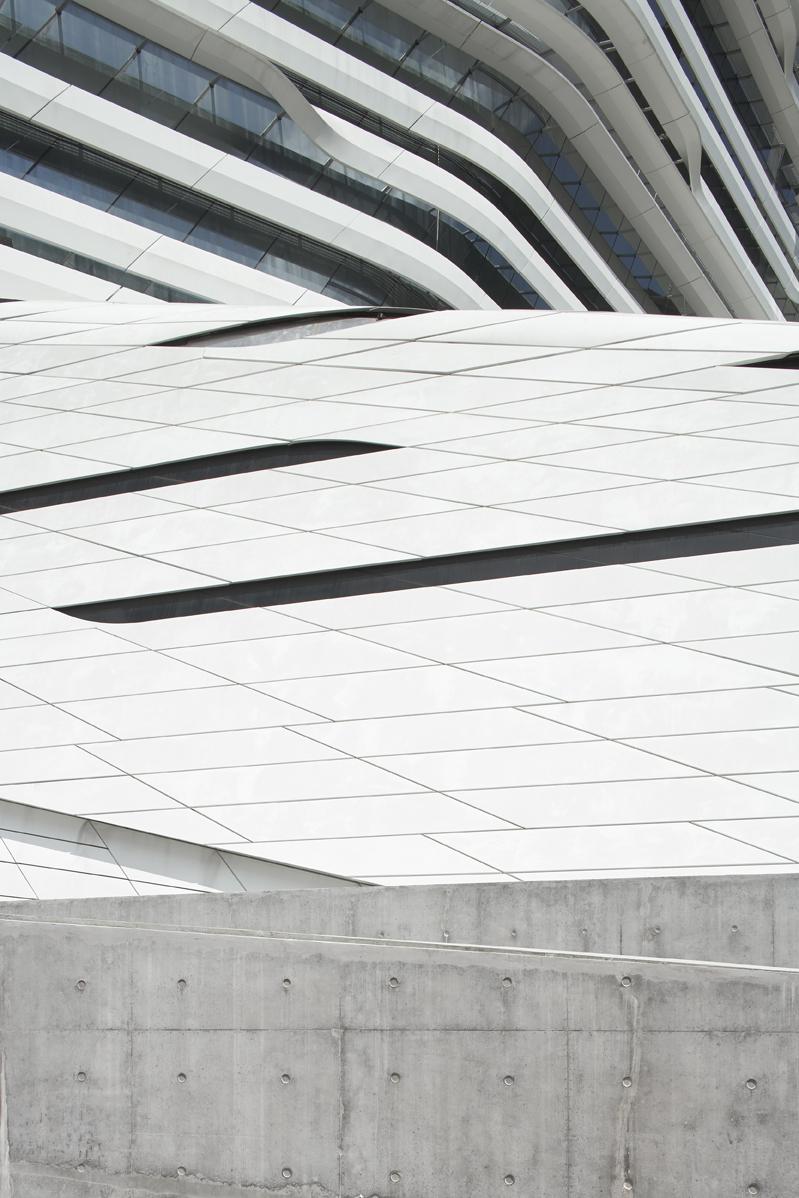 Personal series 'Jockey Club Innovation Tower', Jockey Club Innovation Tower by Zaha Hadid Architects, Kowloon, Hong Kong, 2014