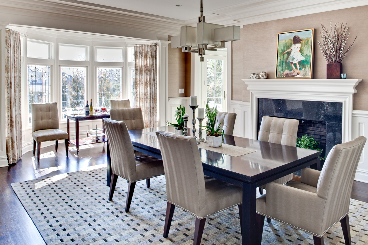Pelham ny renovation andrea ackermann archinect - Dining room renovation ...