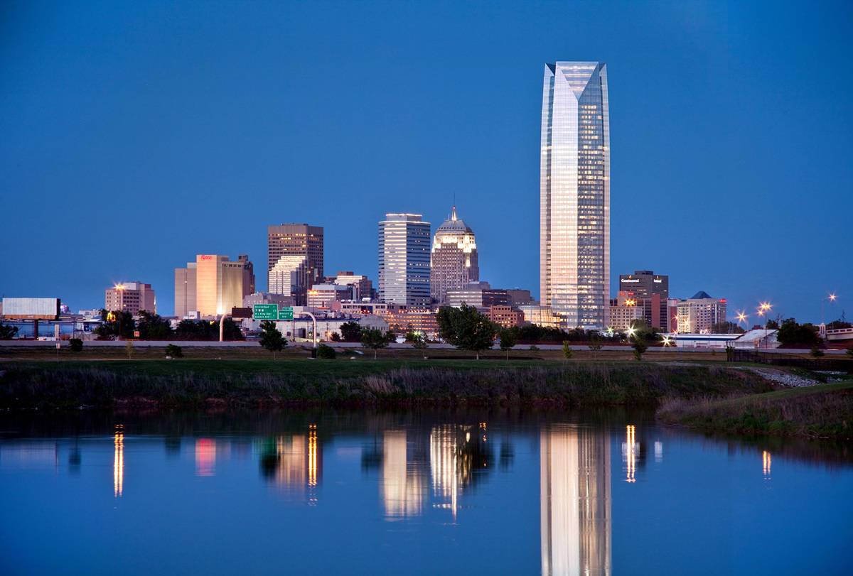 Finalist - Americas: Devon Energy Center, Oklahoma City, USA by Pickard Chilton © Simon Hurst