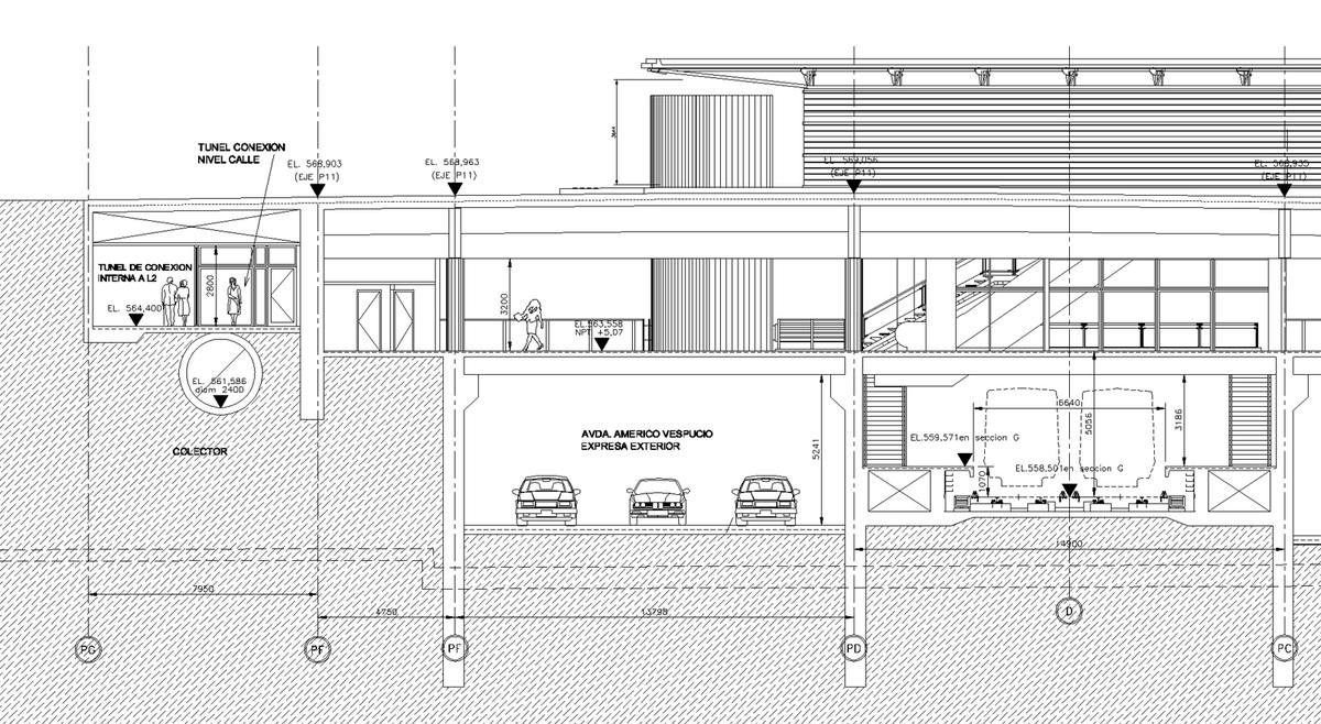La Cisterna Subway Station Karen Miller Archinect