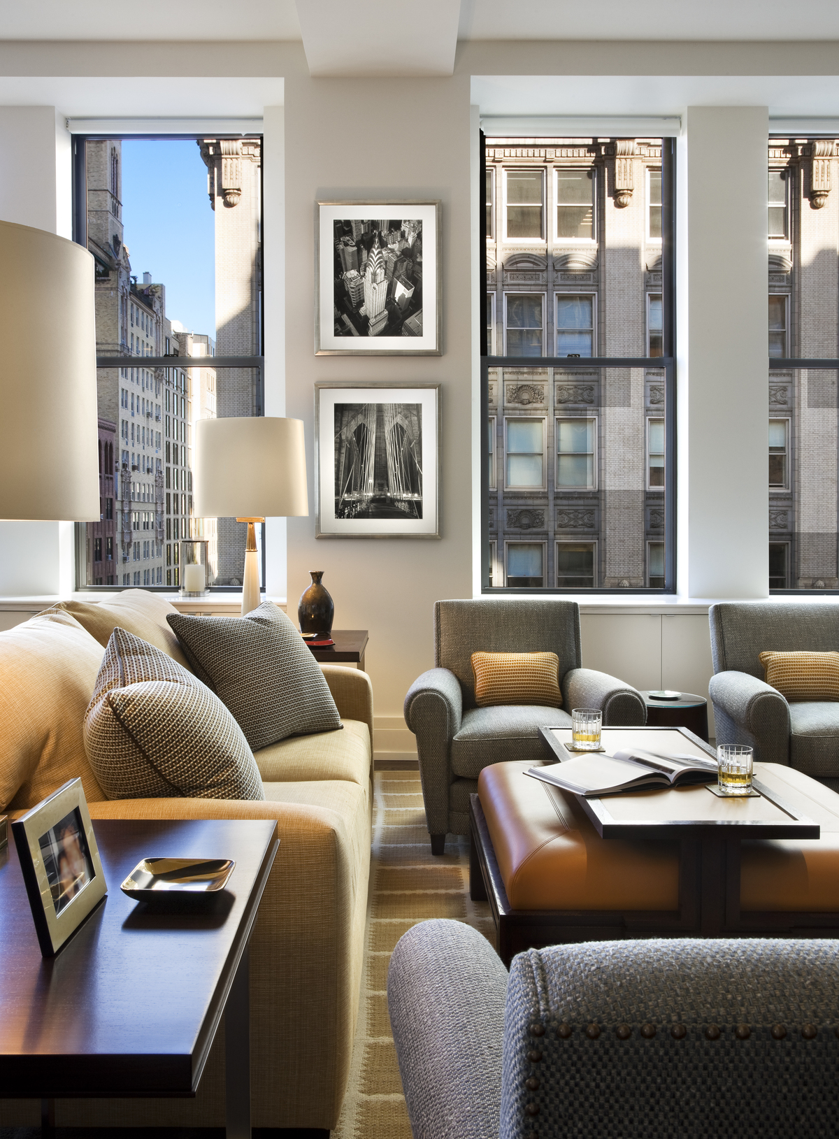 Park avenue apartment theodore mccarthy archinect for Avenue u living room