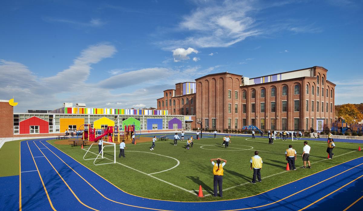 Boston Renaissance Charter Public School Hmfh Architects