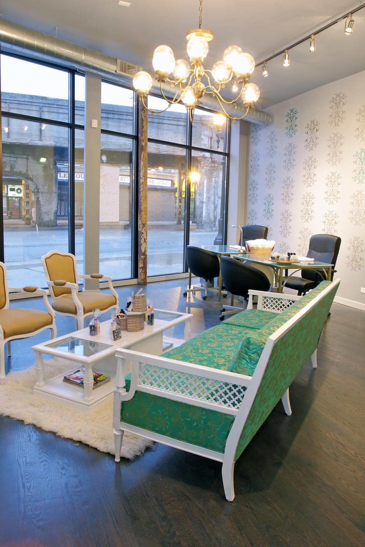 Spoil me spa agata jagiello archinect for A j salon chicago