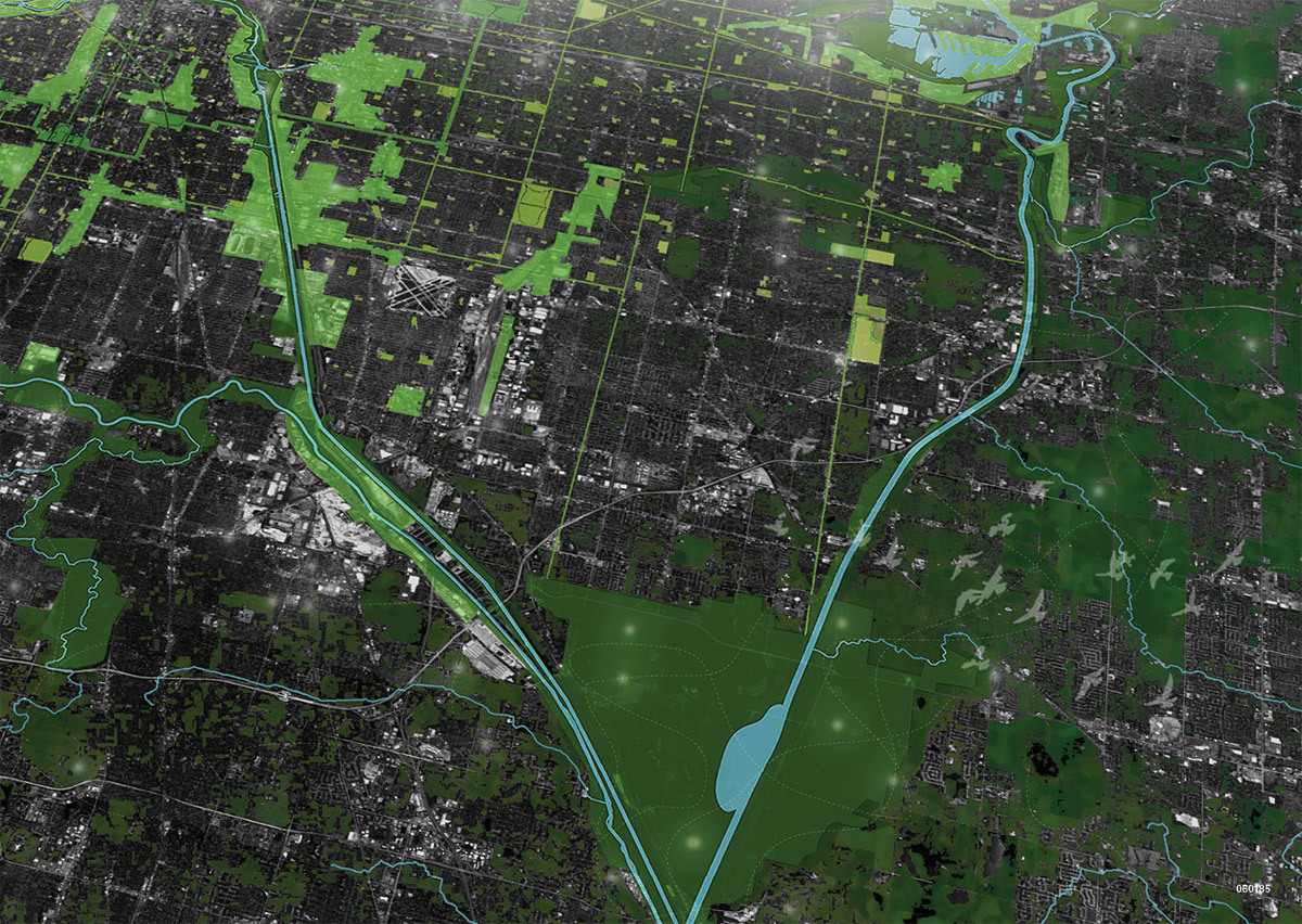 Winners Of NETWORK RESET Rethinking The Chicago Emerald Necklace - Chicago map necklace