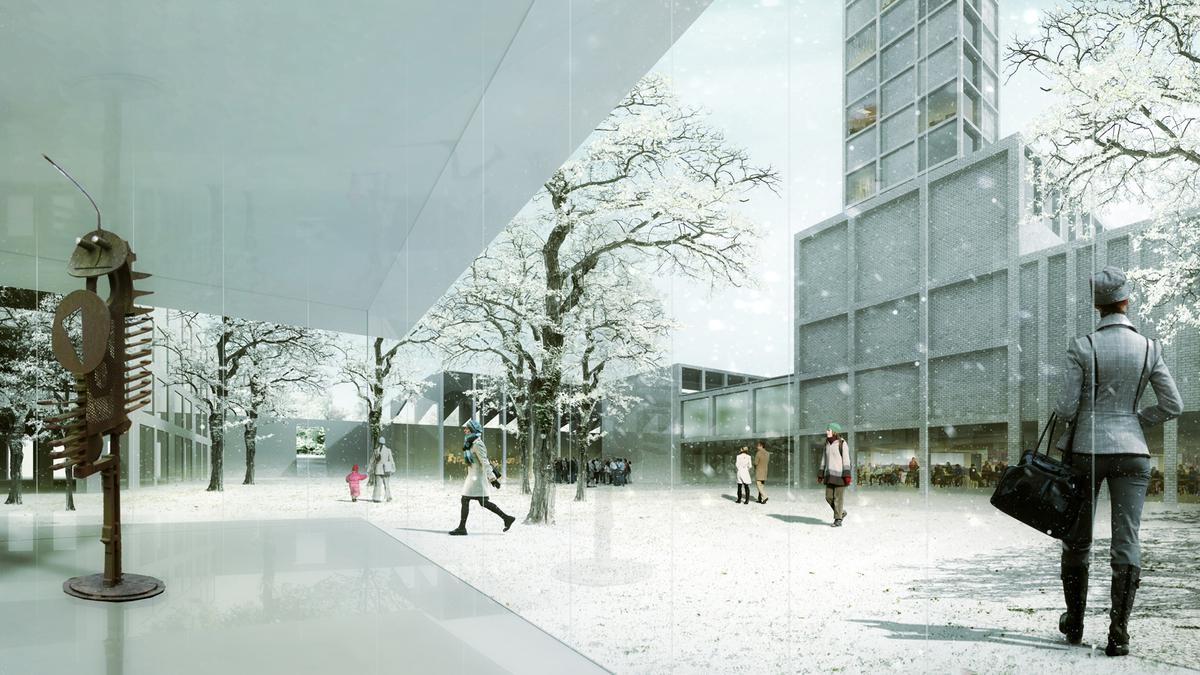 Interior of Hortus conclusus. Image: alvarez ouburg architects
