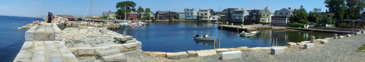 Lumber Wharf, downtown Rockport