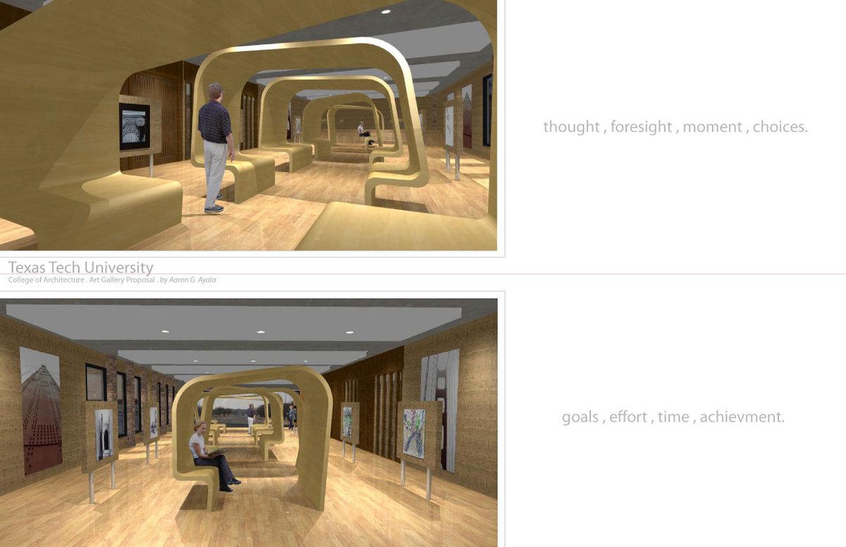 2010 Art Gallery / Student Lounge Area