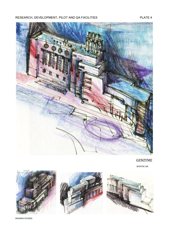 Genzyme R&D- Building Design