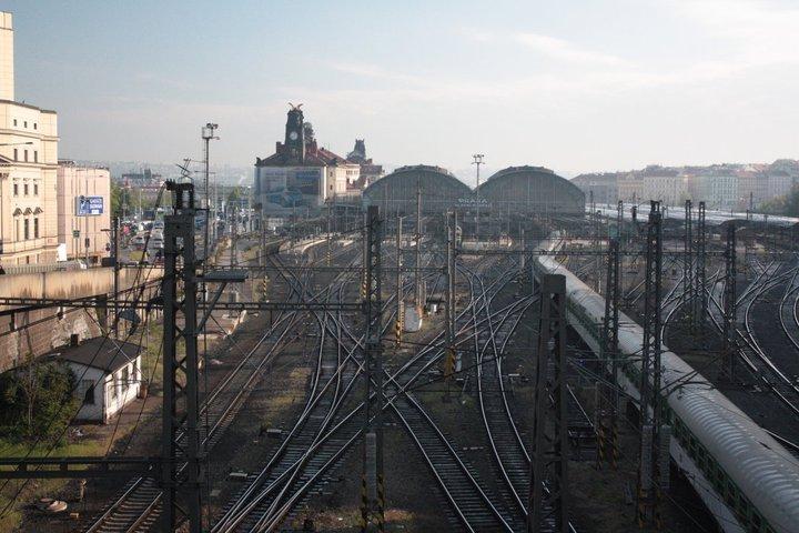 PRAGUE_Praha Hlavní Nádraží Station