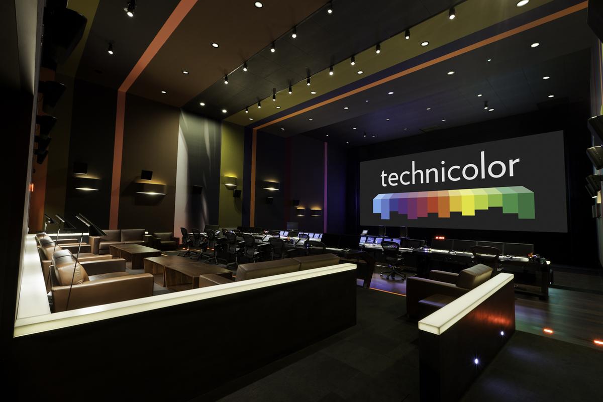 Paramount technicolor post production building studio for Production builder