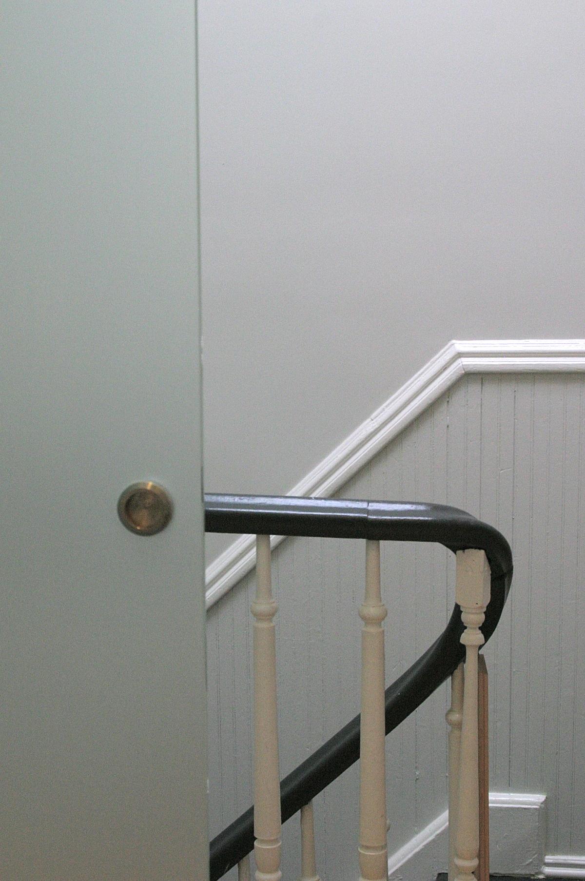 Door at stair detail