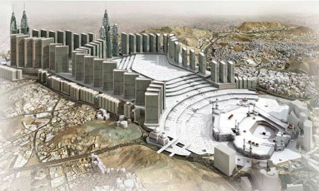 Toast-rack urbanism ... how the al-Shamiya area will look