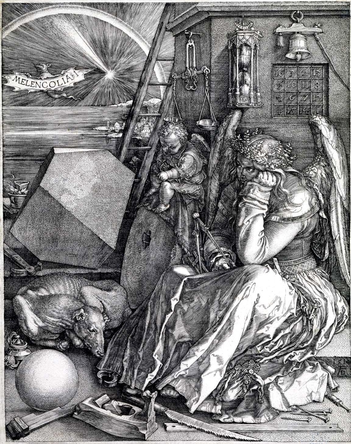 Melancholia I - Albrecht Durer