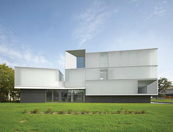 Iotti + Pavarani Architetti, with Domus Technica (centre for advanced training), Brescello, Italy