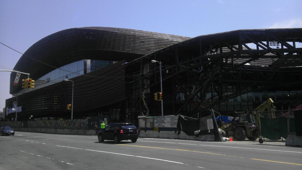 Barclays Center via Aaron Plewke