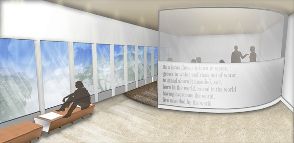 Progression Meeting Space View: Google SketchUp, Adobe Photoshop