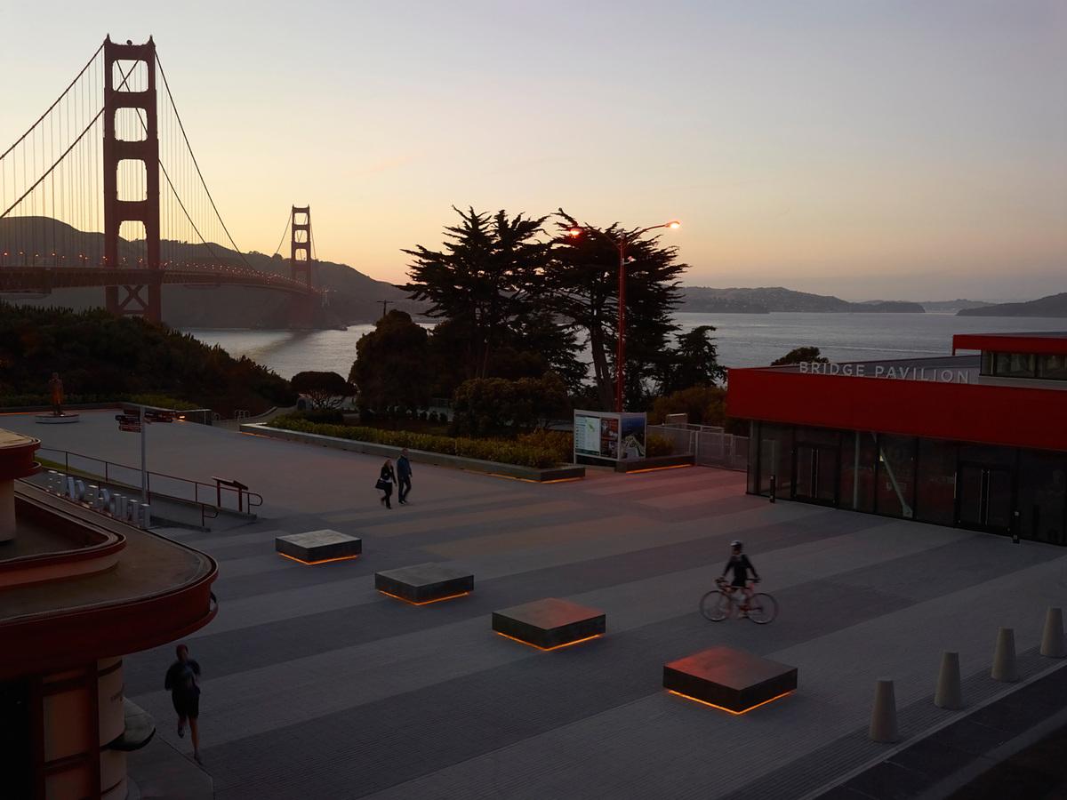 Surfacedesign, Inc.: Golden Gate Bridge Plaza, San Francisco | photo: Marion Brenner