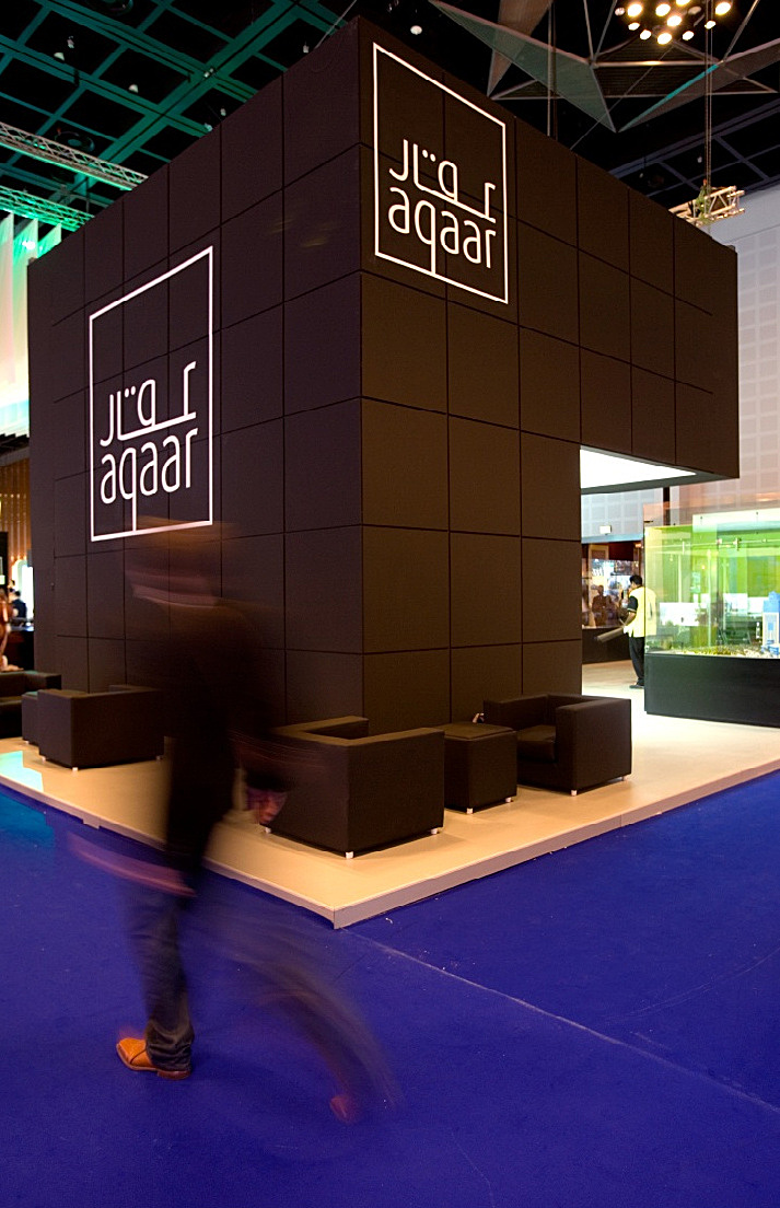 Exhibition Stand Fitter Jobs London : Aqaar exhibition stand jak studio archinect