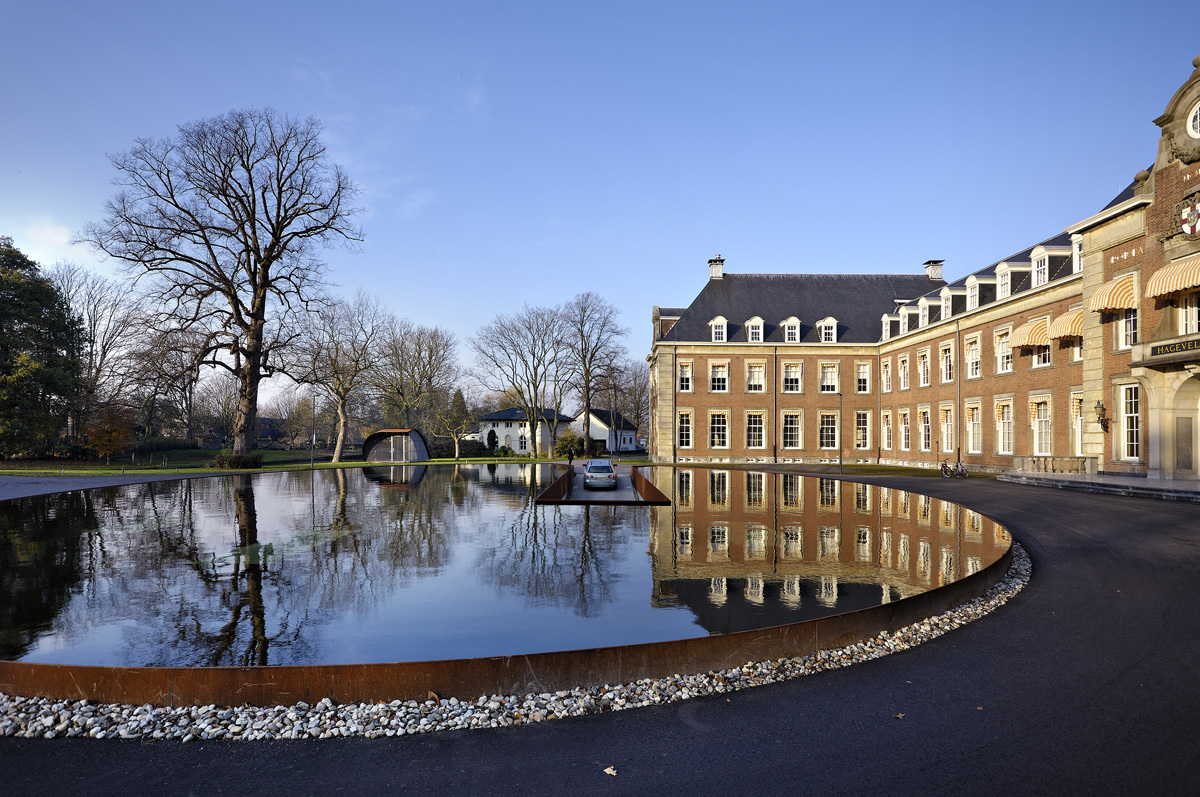 Heemstede hageveld estate hosper archinect for Ornamental pond