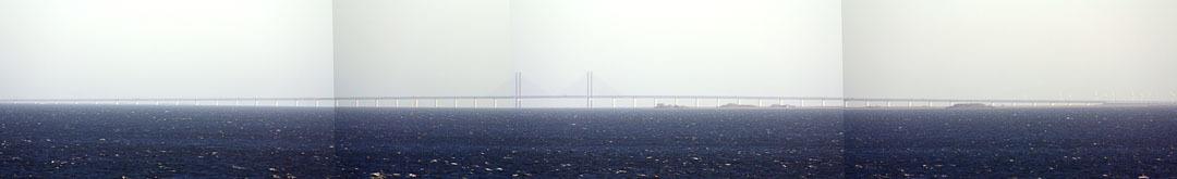 Bridge from Copenhagen to Malmö