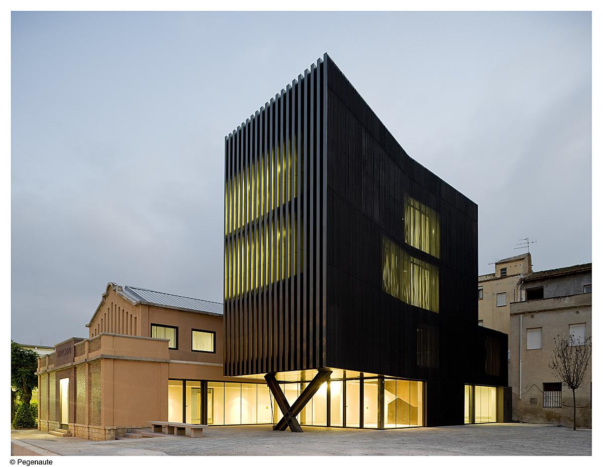 ferreries cultural centre arquitecturia archinect