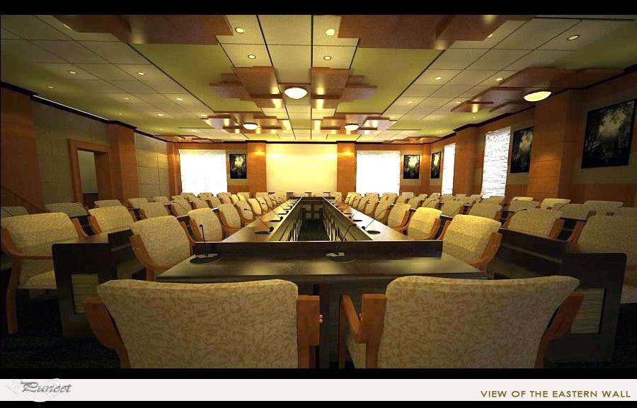 Local development ministry auditorium hall interior design for Local interior decorators