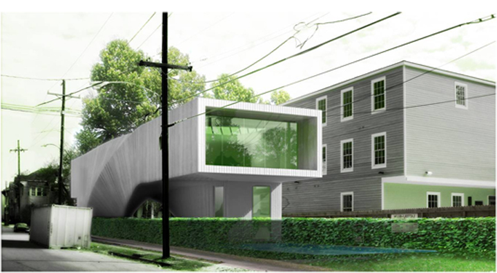 J House - Architectural Rendering
