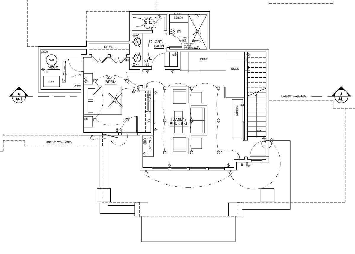... Electrical Work Plan ~ Residential work with the sandbox studio john j  gerneth ...