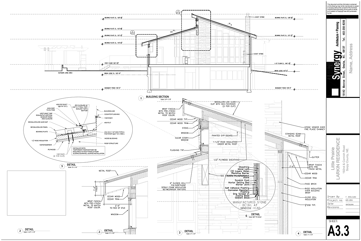 Section - Synergy Architect + Planning