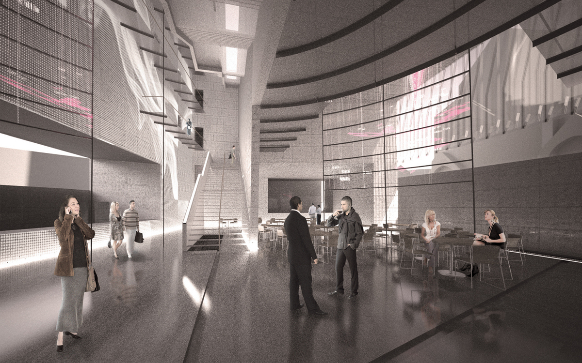 Entrance foyer perspective