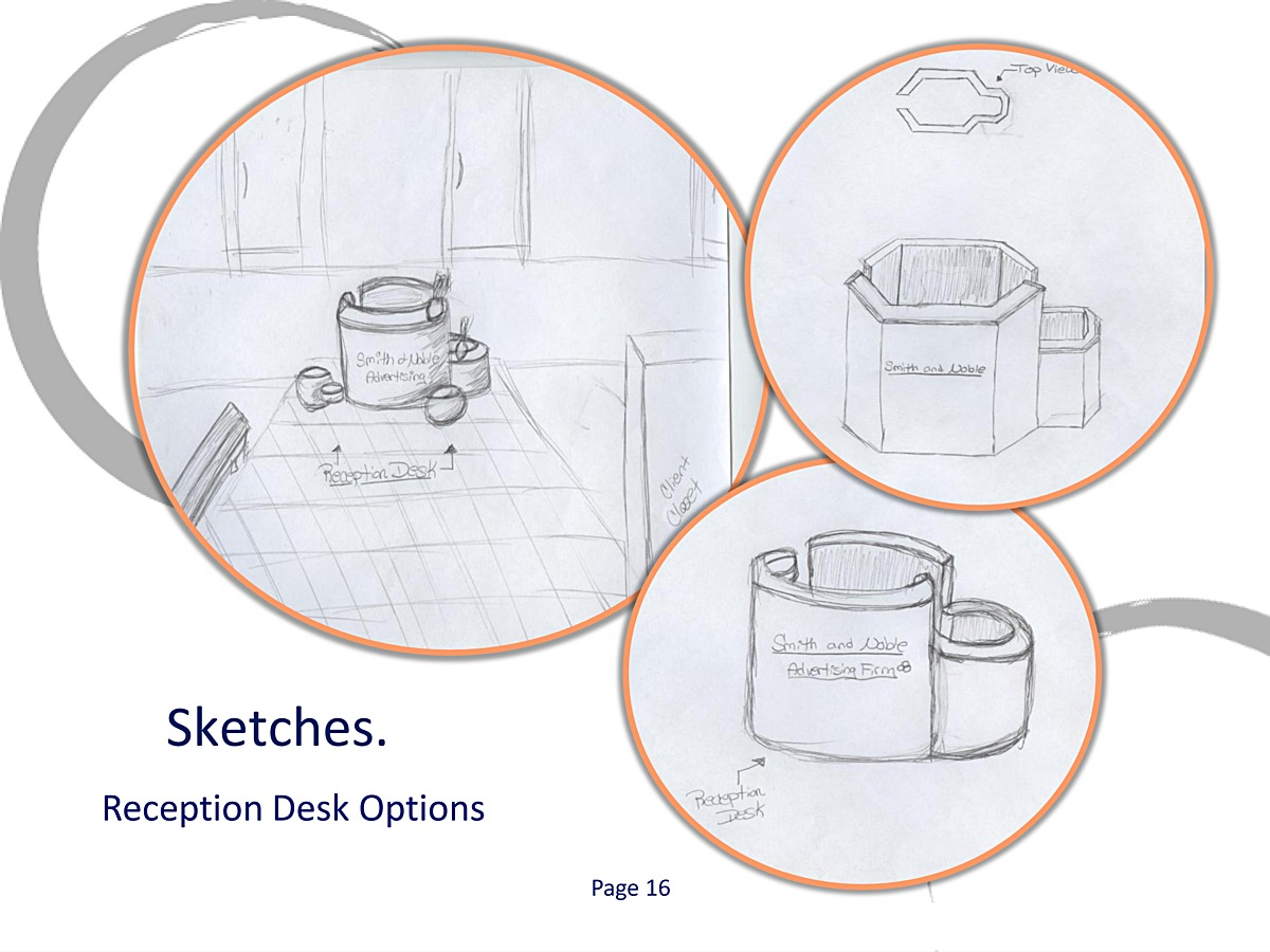 Design Development - Sketches