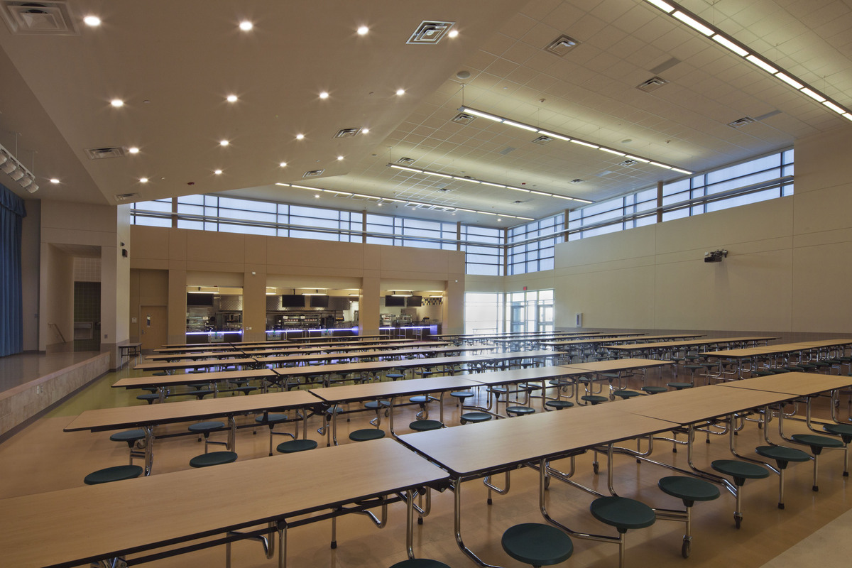 Lady Bird Johnson Middle School Hunter Douglas Architectural Archinect