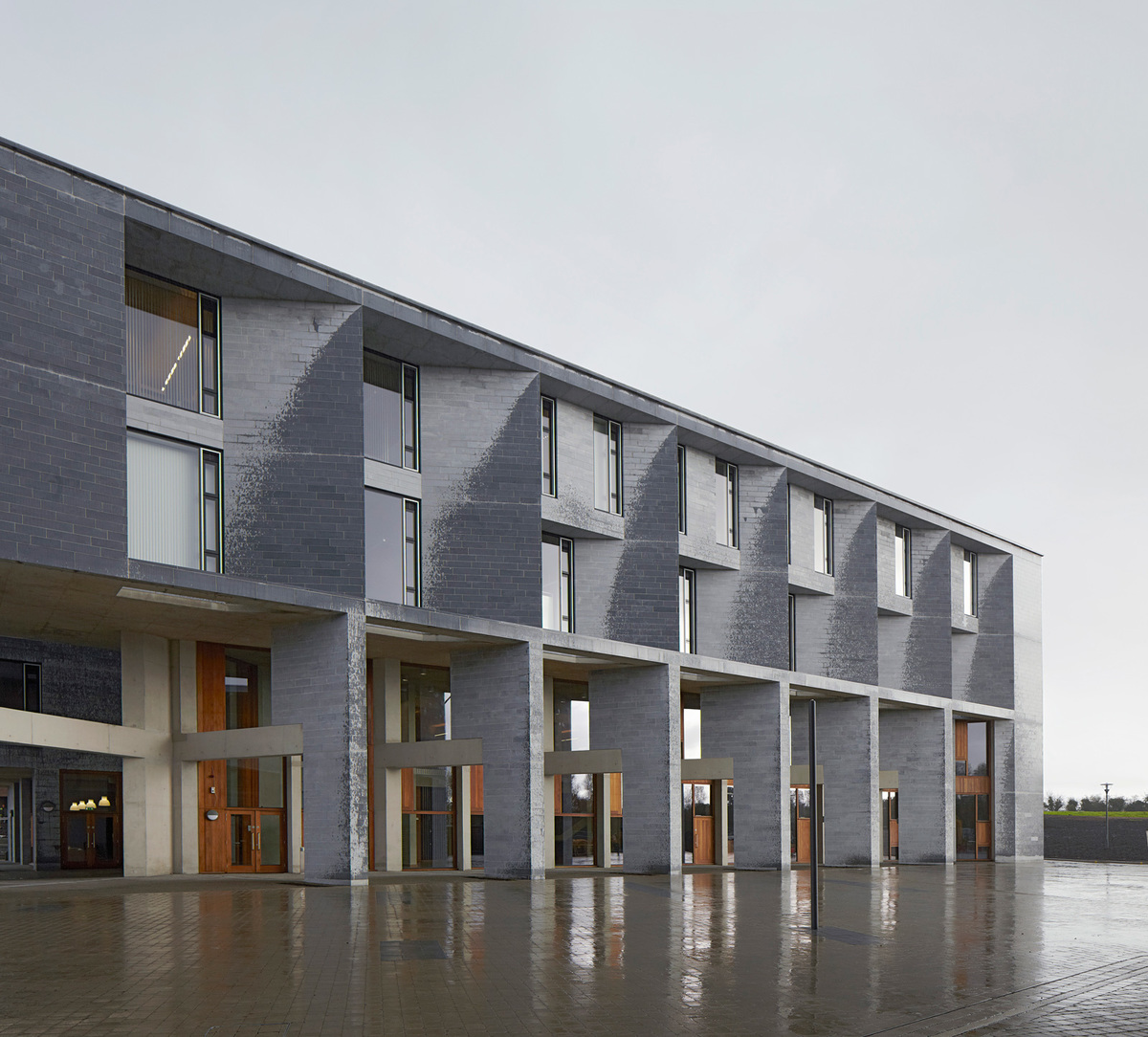 University of Limerick Medical School by Grafton Architects; Photo: Dennis Gilbert