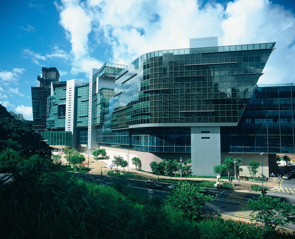 Cyberport Hong Kong Jennifer Slavik Archinect