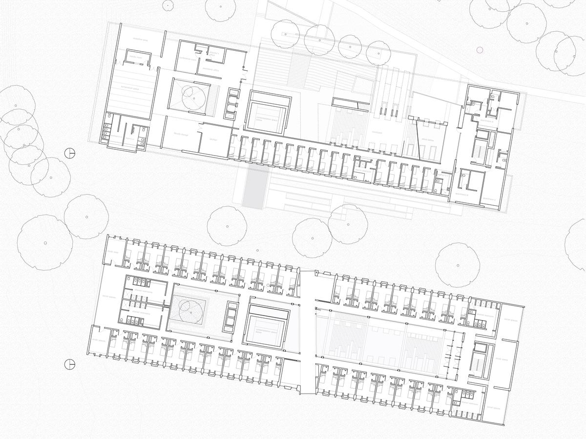 Floor Plans - Main & Upper Levels
