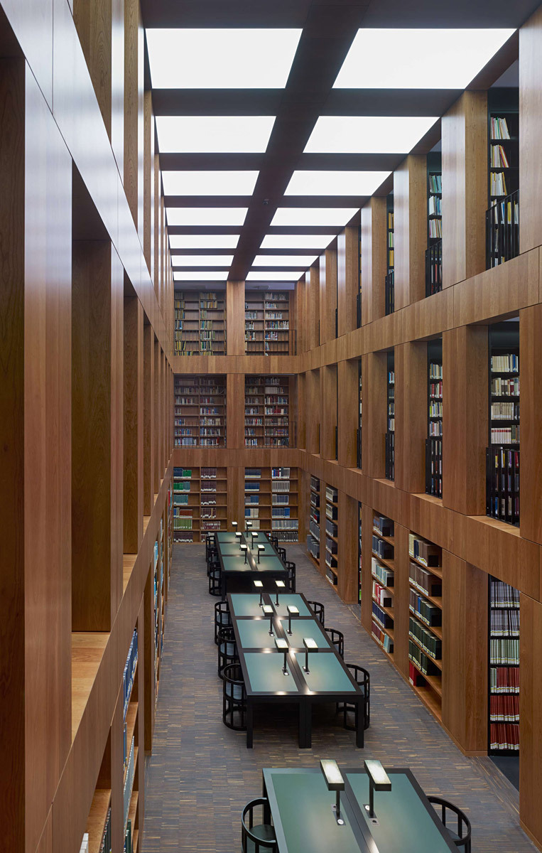 View of the reading room (Photo: Stefan Müller)