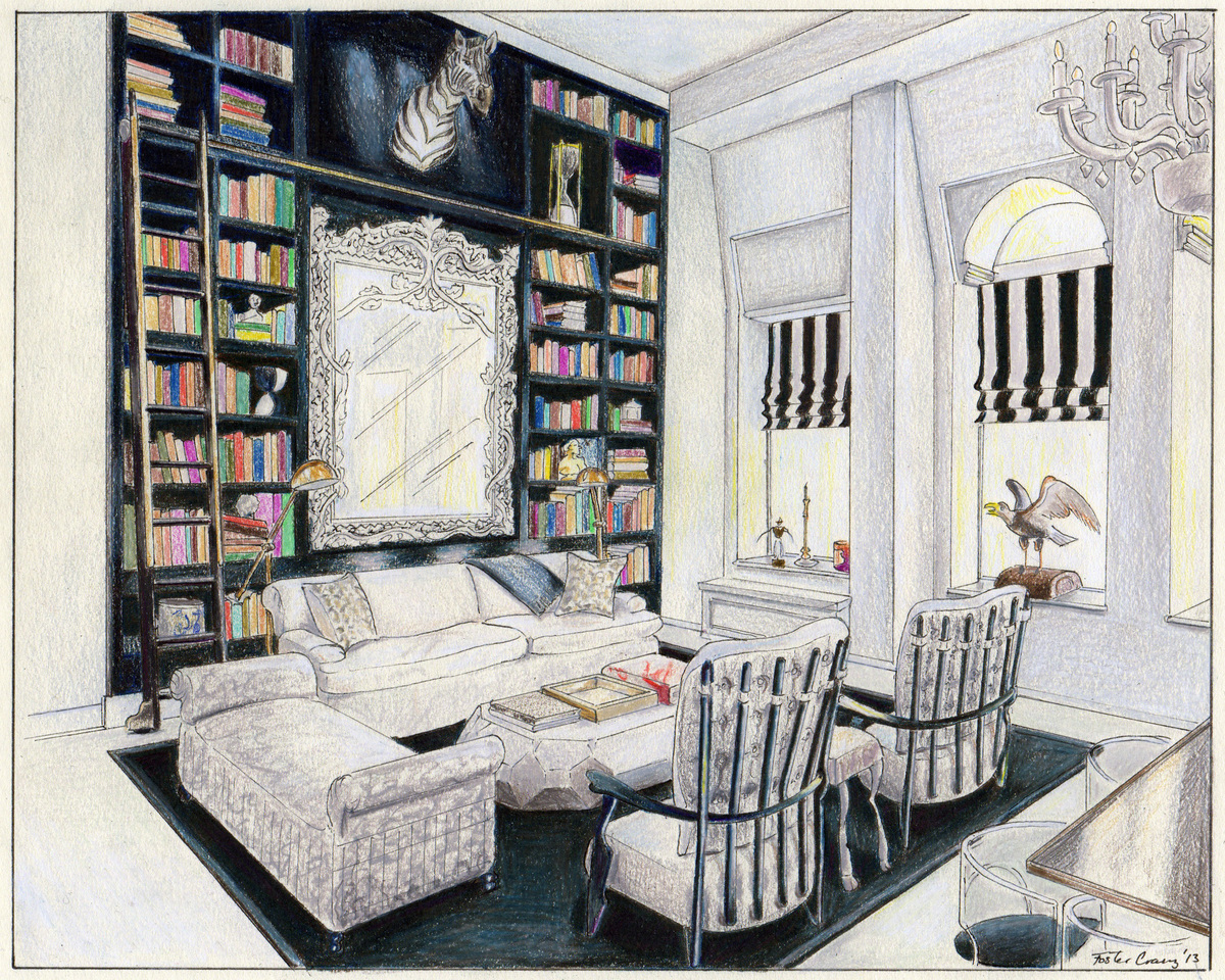 Lilly Bunn Interiors Interior Drawings Foster Cranz Archinect