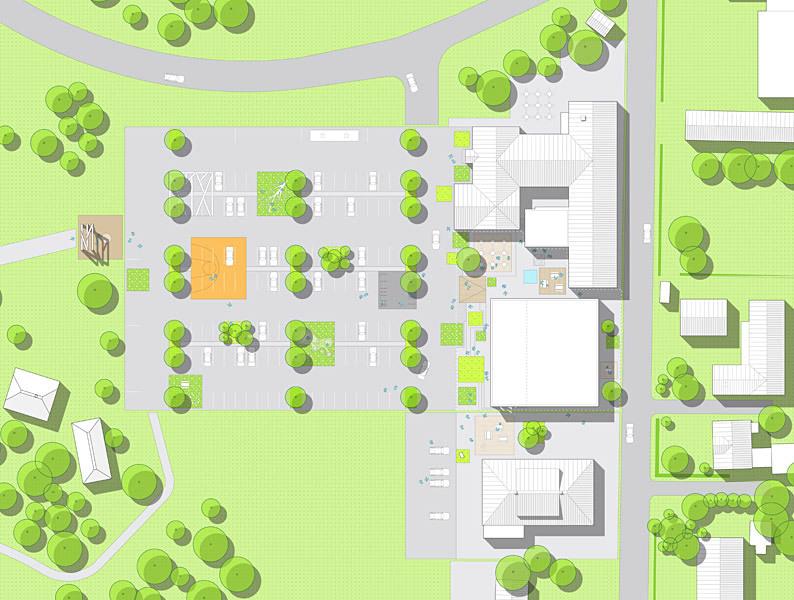 Site plan (Image: CEBRA)