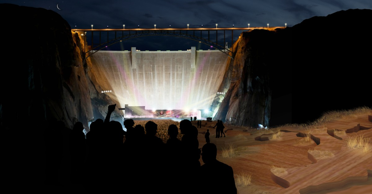_Performance Center at Base of Dam