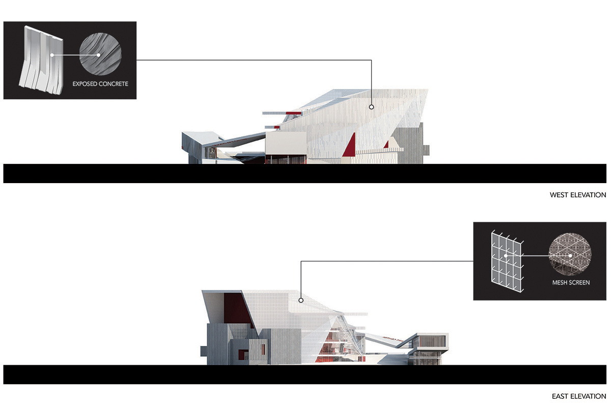 Elevations 1 (Image: H Architecture & Haeahn Architecture)