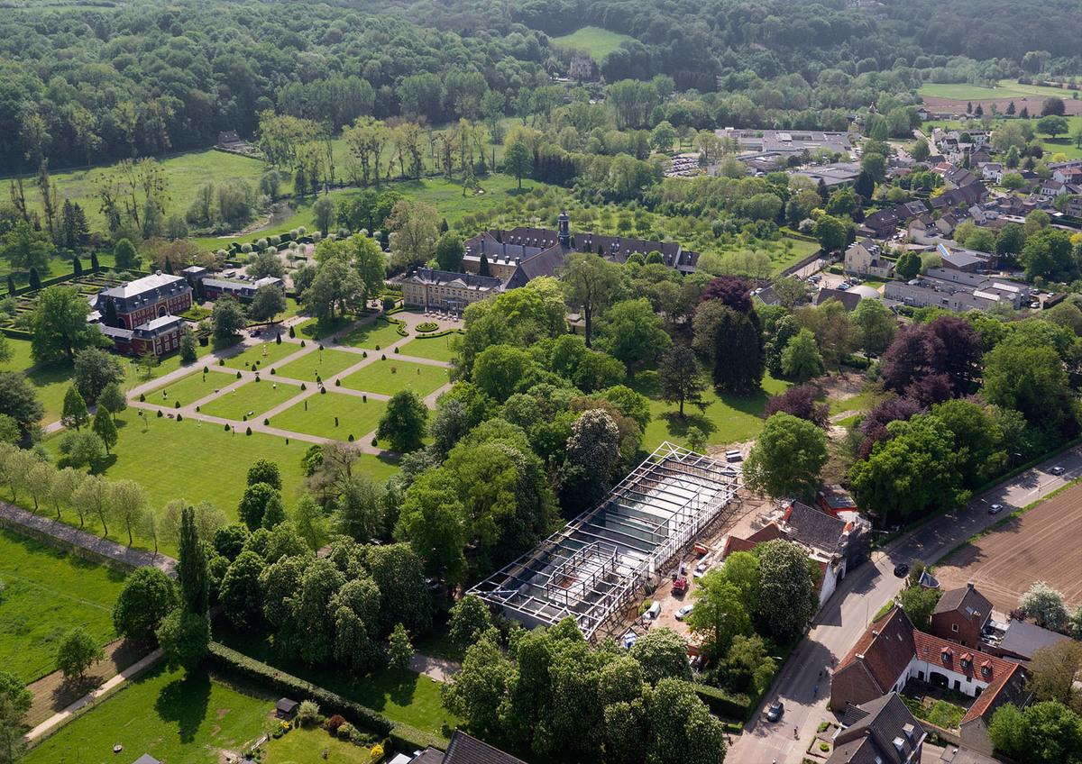 St Gerlach Pavilion Amp Manor Farm Mecanoo Archinect