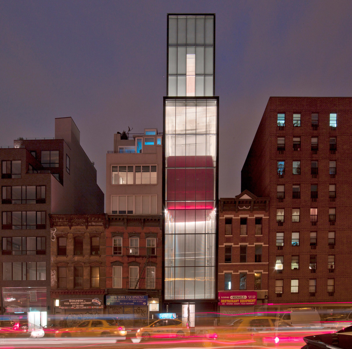 Sperone Westwater in New York City by Foster + Partners (Photo: Tom Powel)