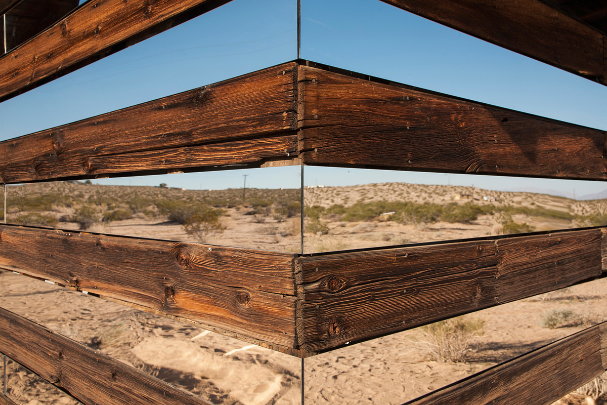 Lucid Stead by Phillip K. Smith, III. Photo: Lance Gerber.