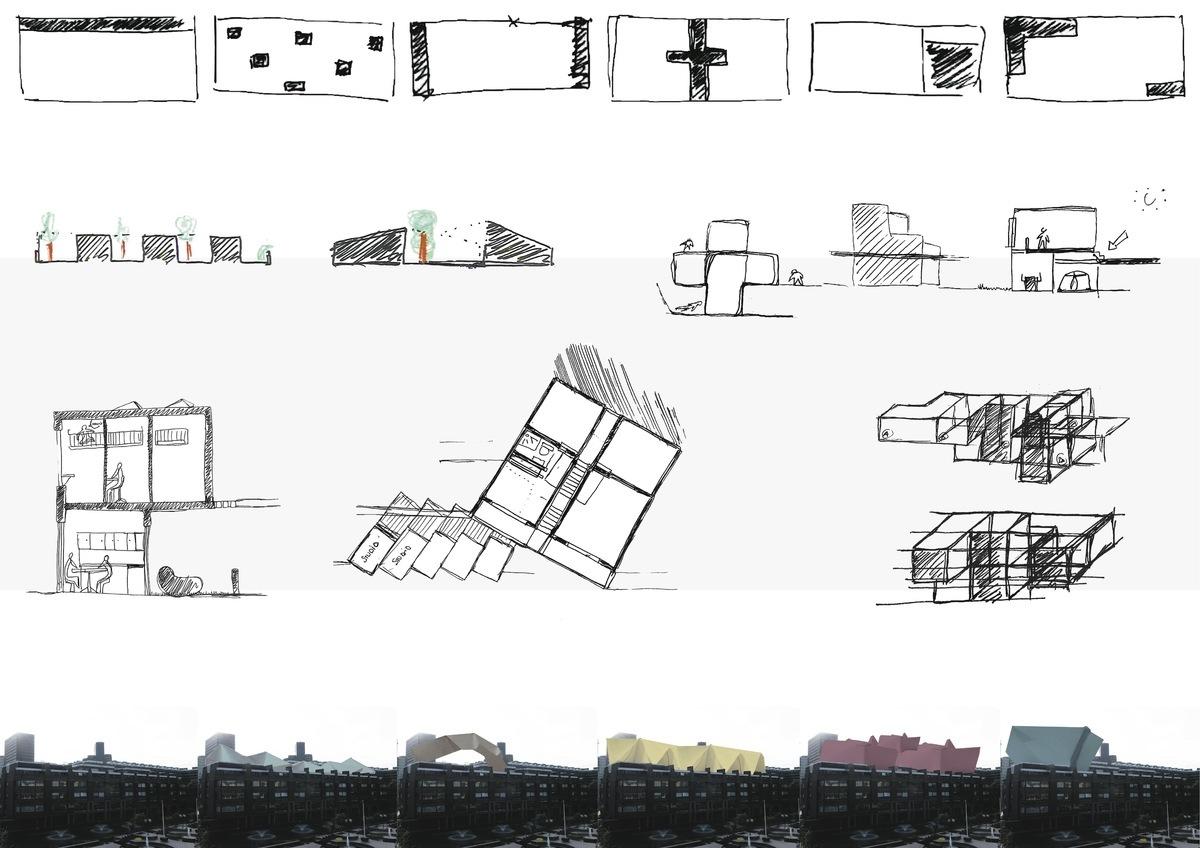 Barbican Unite - drawing - Yves Kervoelen