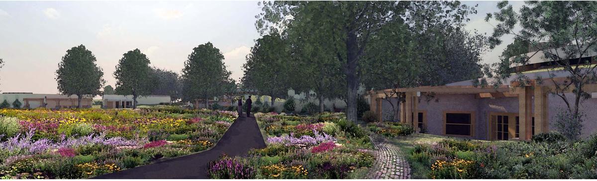 Bike Path and Gardens