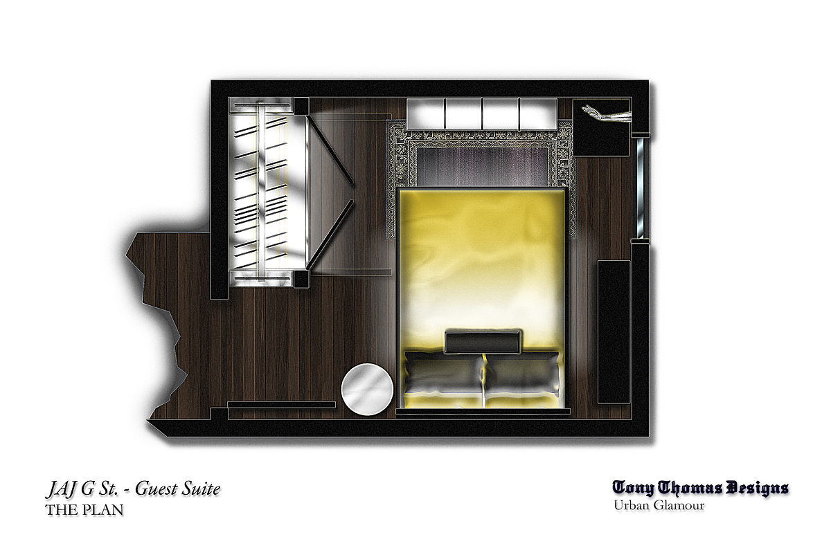 GUEST SUITE ZOOMED PLAN