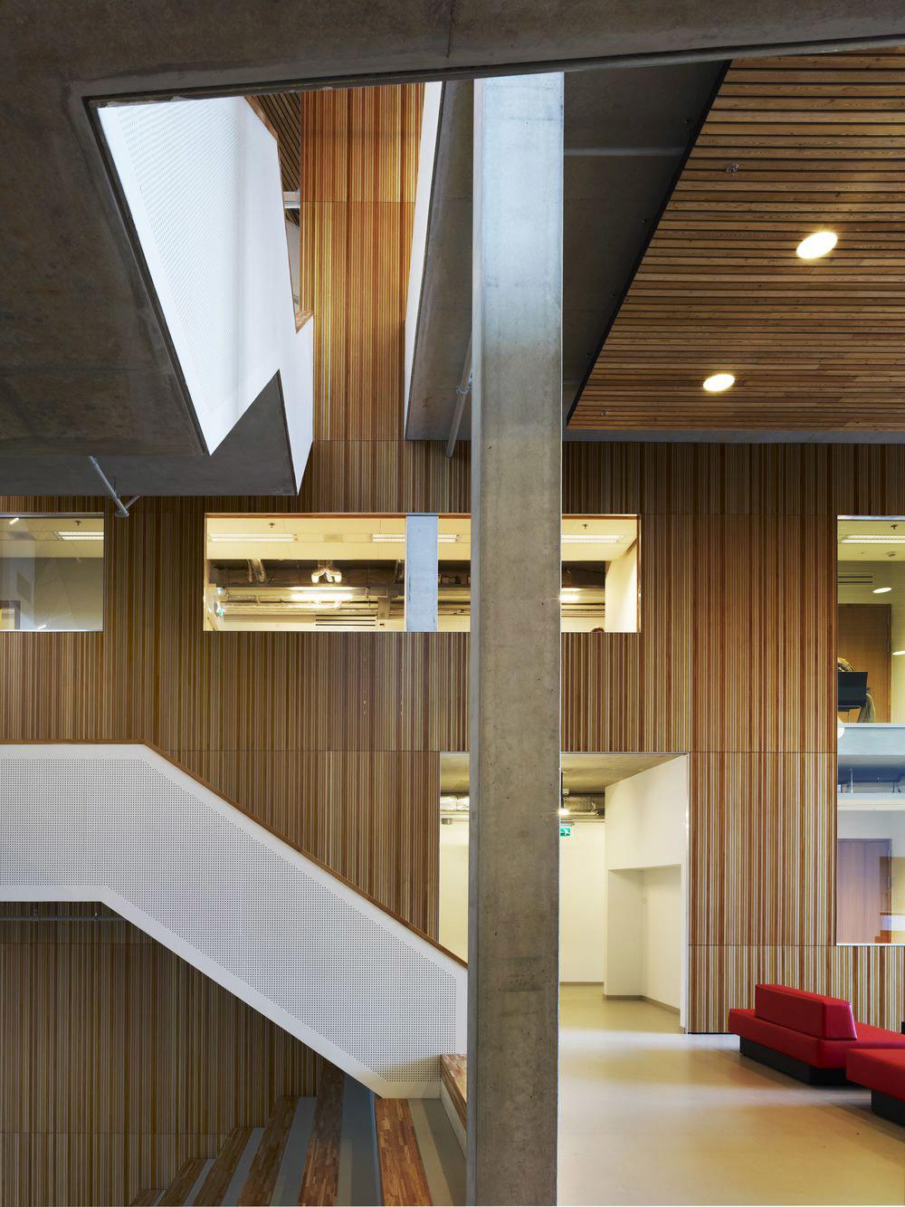 Winding staircase (Image: Mecanoo architecten)