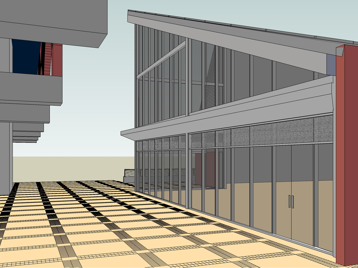 Final design (NW view) 3 of 3